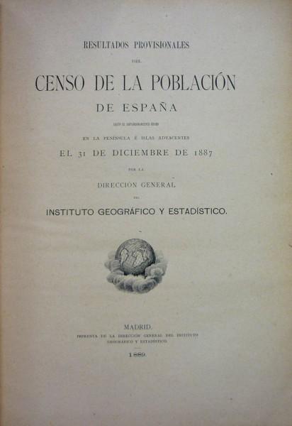 RESULTADOS PROVISIONALES DEL CENSO DE LA POBLACIÓN DE ESPAÑA
