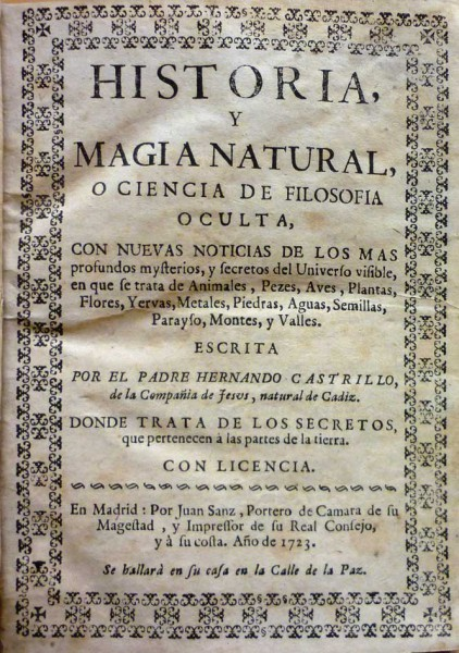 HISTORIA, Y MAGIA NATURAL