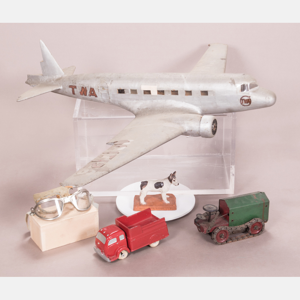 A Collection of Vintage Toys and Models