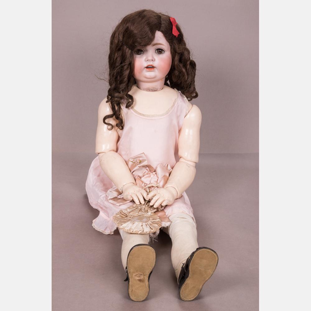 An Antique JDK Bisque Doll