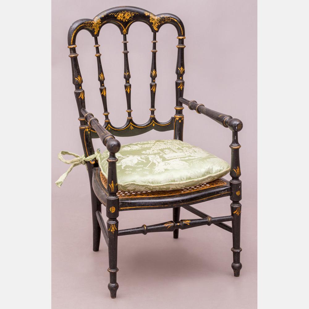 A Diminutive Victorian Side Chair