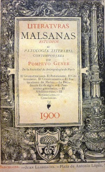 LITERATURAS MALSANAS