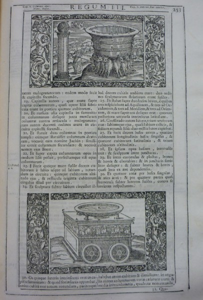 BIBLIA SACRA.- VULGATAE EDITIONIS Sixti V. & Clem. VIII Pont