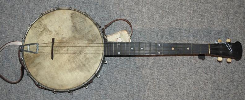 A four string banjo