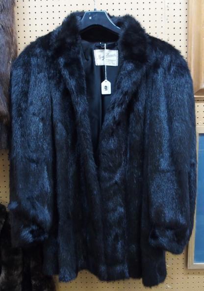 Moray Glasser fur jacket