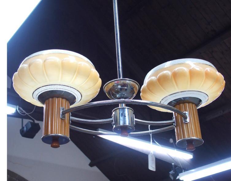 Art Deco style light.