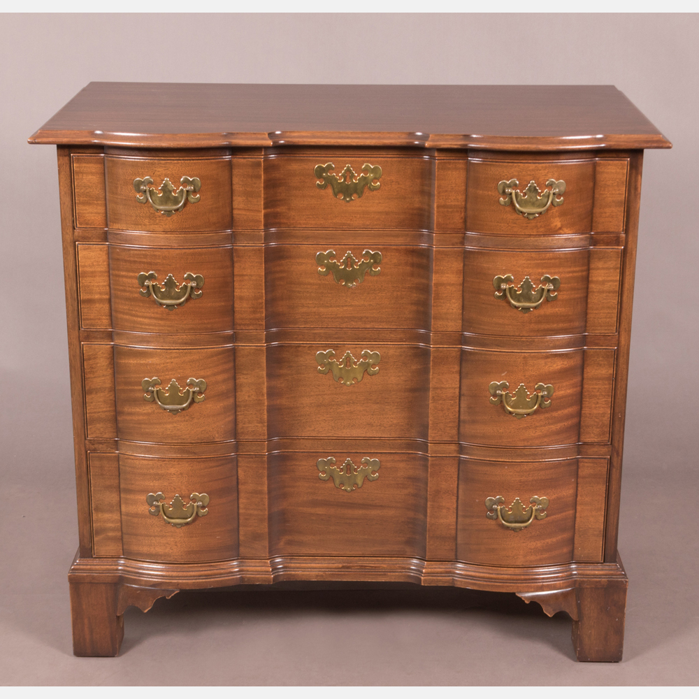 A Chippendale Style Chest of Drawers