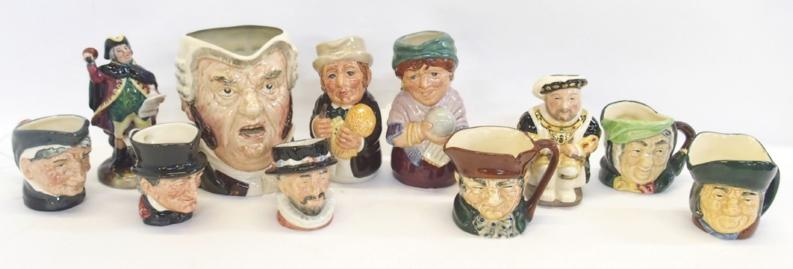 Collection of Royal Doulton including miniature figure 'Town Crier' HN3261