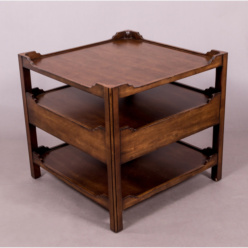 A Century Three Tier Side Table