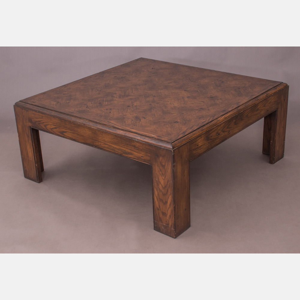 A Contemporary Stained Low Table