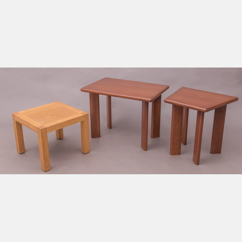 A Group of Three Low Tables