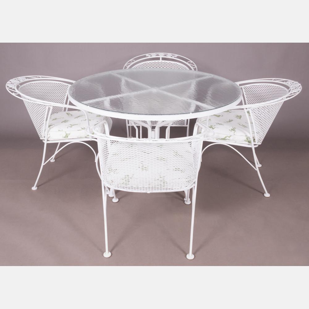 Russell Woodard Style Patio Furniture