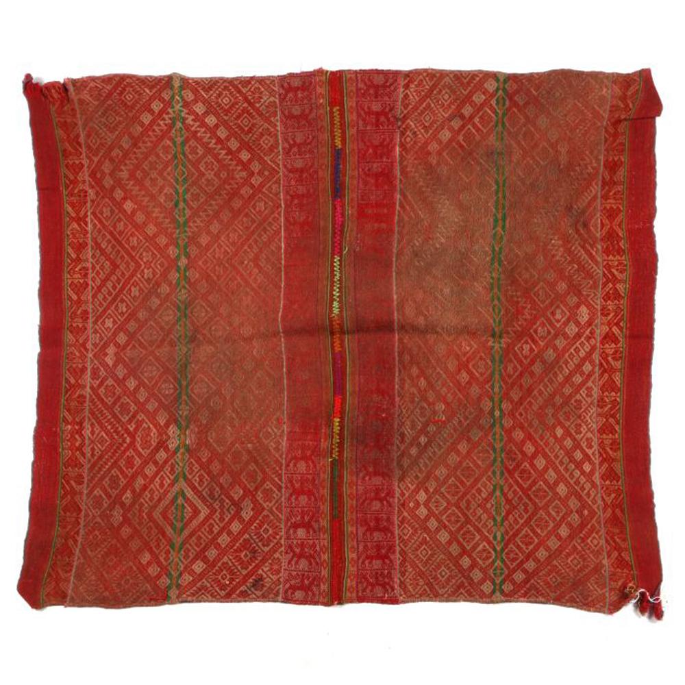 A Peruvian Chinchera Wool Mantle