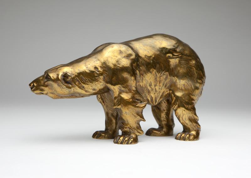 A Vienna bronze figure of a bear