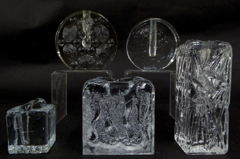 Collection of Swedish glass