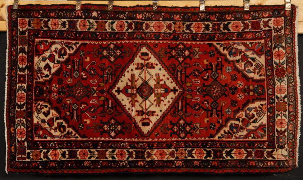 Semi-antique tribal carpet, Persian
