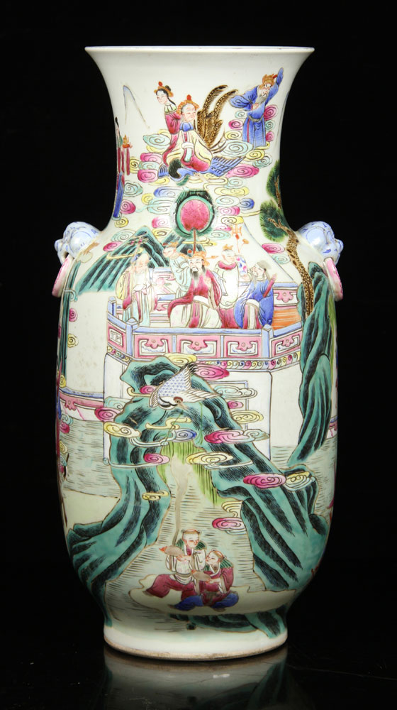 Famille-rose vase