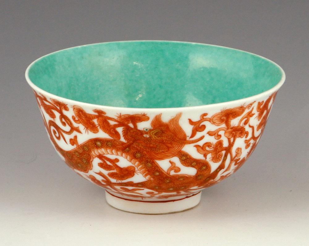 Famille-rose porcelain bowl