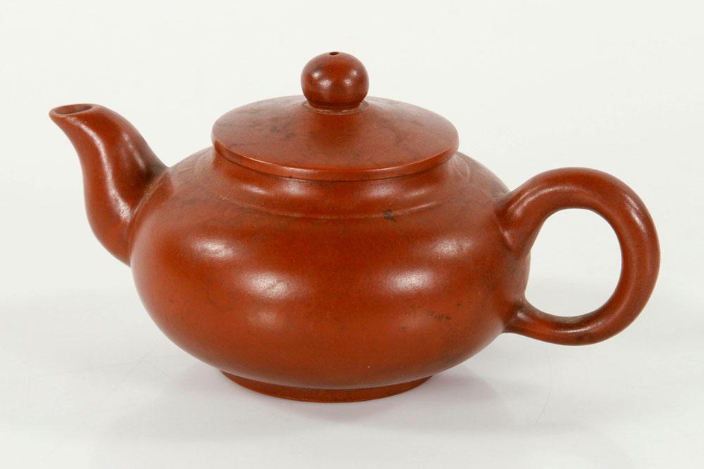 Yixing pottery teapot