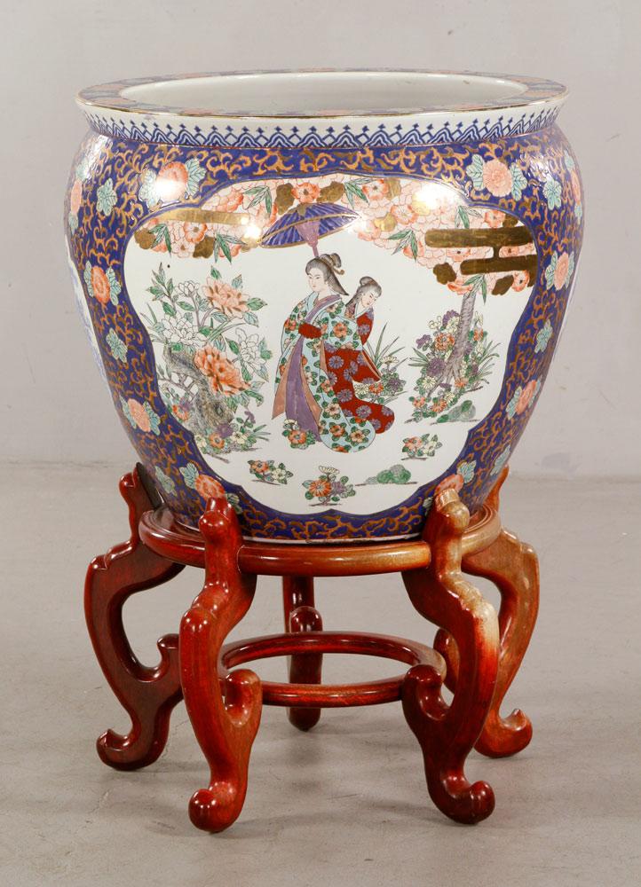 Chinese Mandarin fish bowl