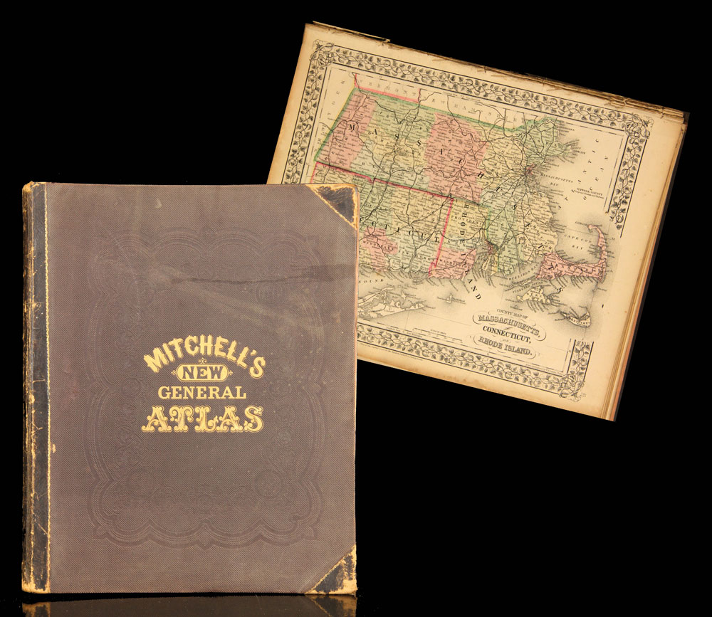 """Mitchell's New General Atlas"