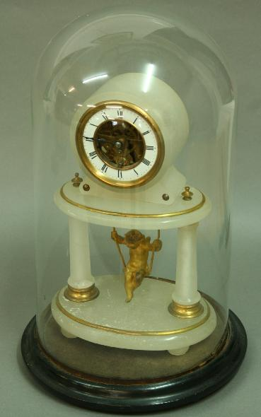 A FRENCH NOVELTY MANTLE TIMEPIECE