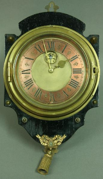 A FRENCH KITCHEN CLOCK