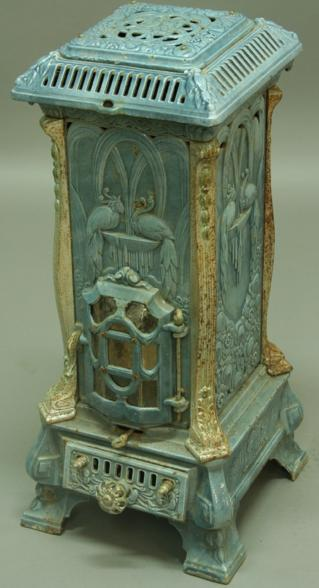 A DEVILLE AND CO OF CHARLEVILLE CAST IRON MONOPOLE STOVE