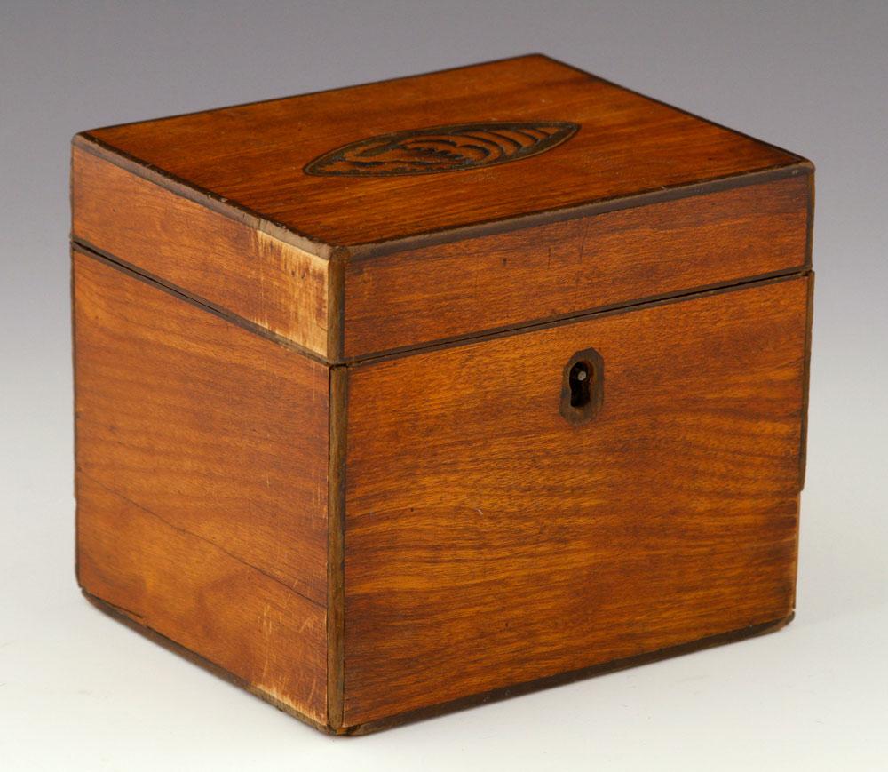 Early 19th century tea caddy
