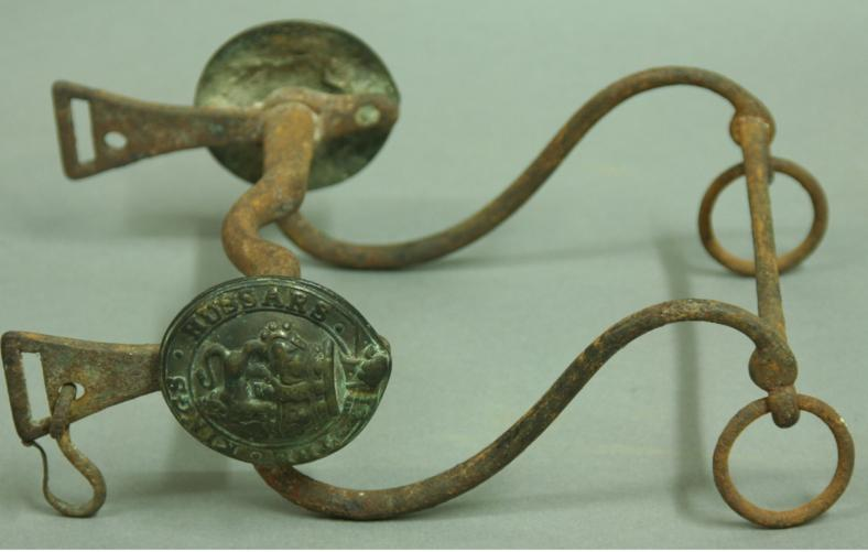 A WILLIAM IV 'THE KINGS HUSSARS' HORSE BIT