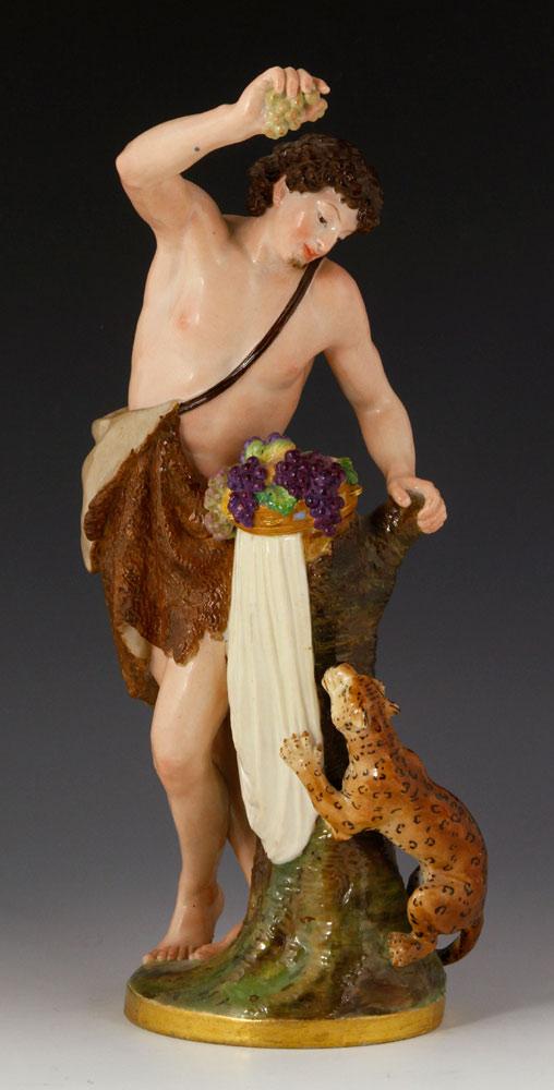 Figure of Bacchus