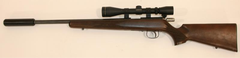 A .22 RUGER RIFLE