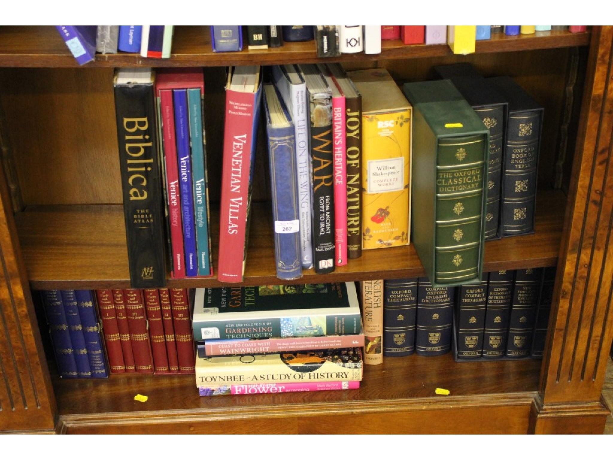 Books: Various special bindings