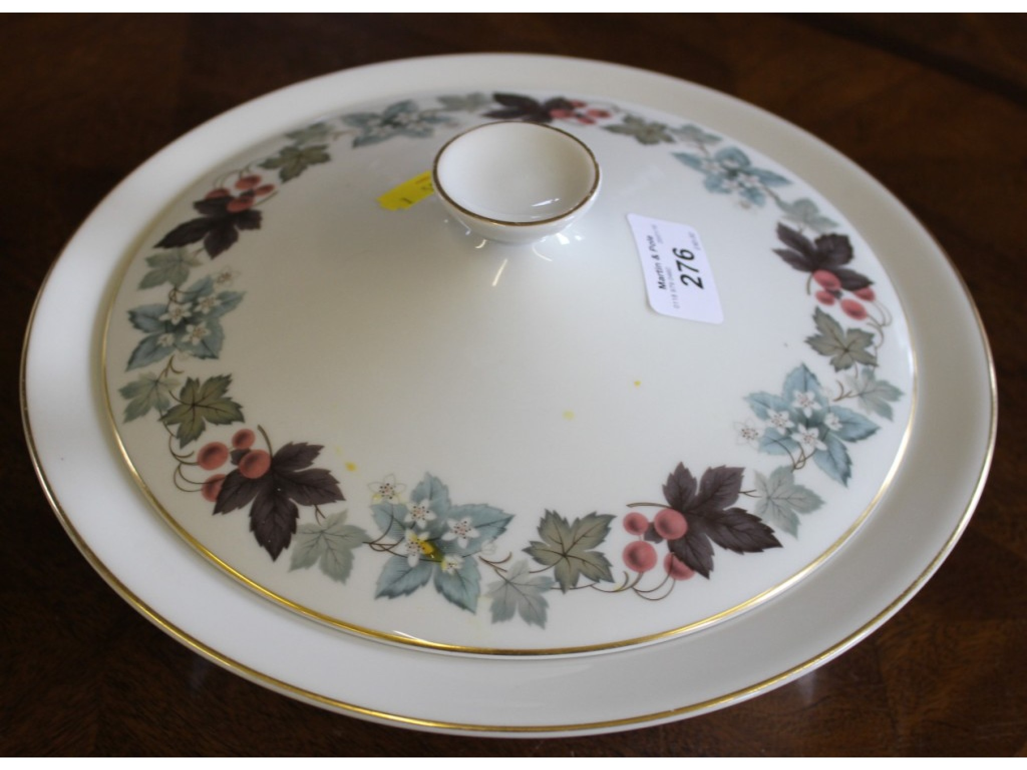 A Royal Doulton Camelot dinner service comprising forty-four pieces