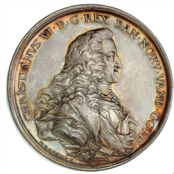 Frederik V, Christian VI's death, 1746, Arbien / Winsløv, G 431/403