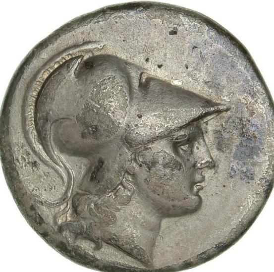 Ancient Greece, Pamphylia, Side, Tetradrachm, c. 200-190 BC, 15.96 g, SNG von Aulock 4788