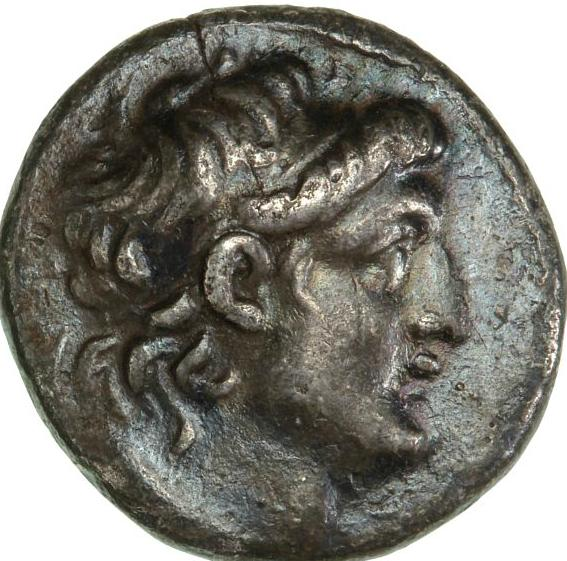 Ancient Greece, Seleucid Empire, Antiochos VII Euergetes, 138-129 BC, Didrachm, struck in Tyre, 6.82 g, SNG Cop 330v
