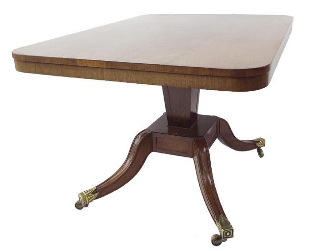 19th century flame mahogany breakfast table