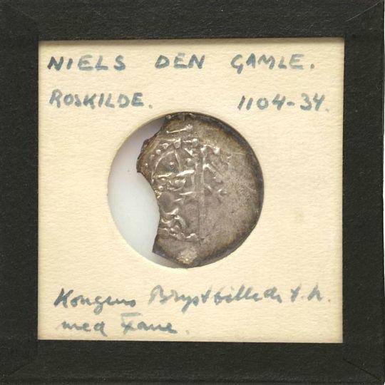 Niels, 1103 - 1134, Roskilde, Penny, Hbg. 9