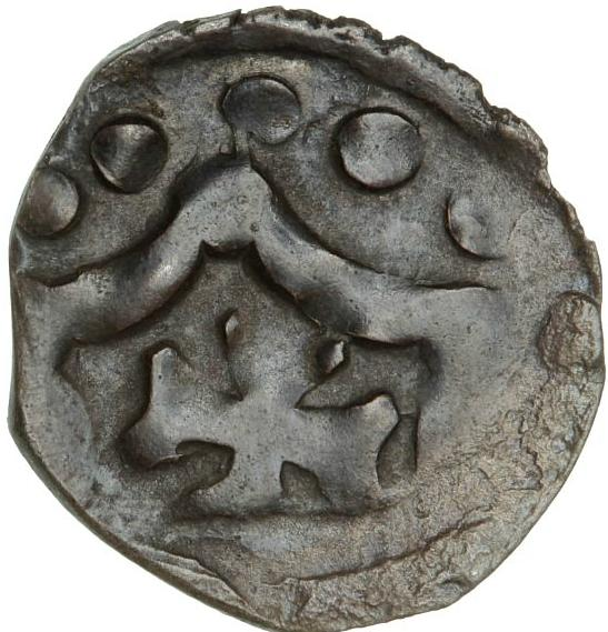 Erik Menved, 1286 - 1319, Penny, Lund, 0.99 g, MB 314, ex. Hede 1991, lot 116