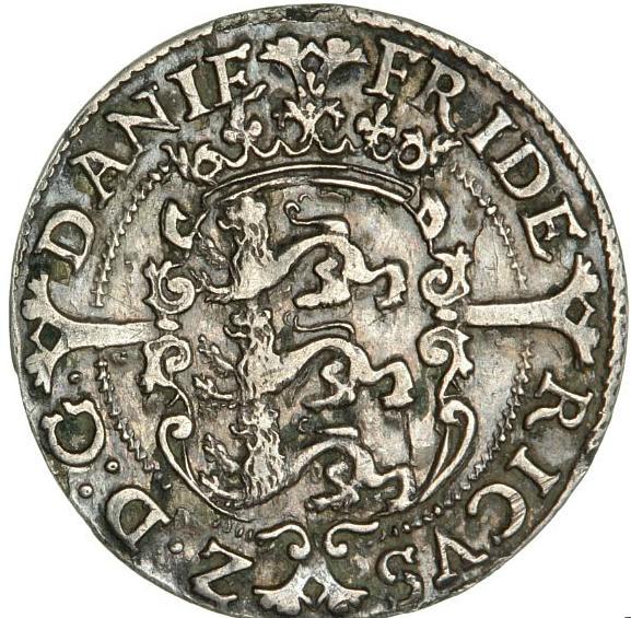 Frederik II, 8 skilling 1584, H 26, S 9