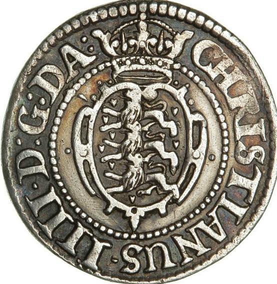 Christian IV, 16 skilling 1624, H 131