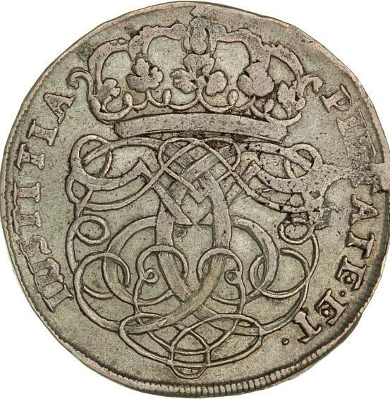 Christian V, 4 mark / krone 1689, H 82, Sieg 43.1, Aagaard 45