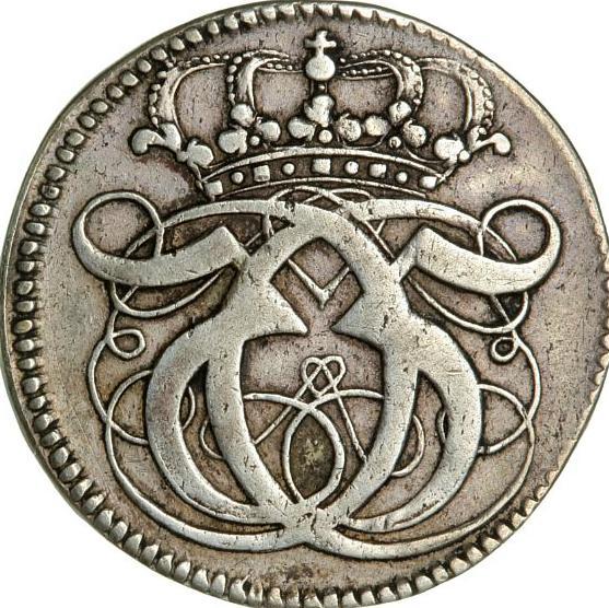 Christian V, mark 1691, H 95A, S 50, Aagaard 68