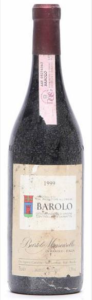 1 bt. Barolo, Bartolo Mascarello 1999 A (hf/in)