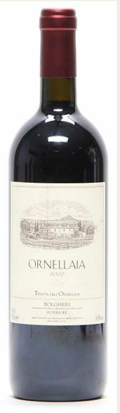 1 bt. Ornellaia, Tenuta dell'Ornellaia, Bolgheri 2002 A-A/B (bn)