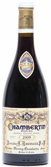 1 bt. Chambertin Grand Cru, Domaine Armand Rousseau 2009 A (hf/in)