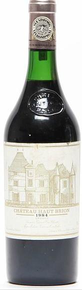 1 bt. Château Haut Brion, Pessac-Léognan. 1. Cru Classé 1984 A/B (ts)