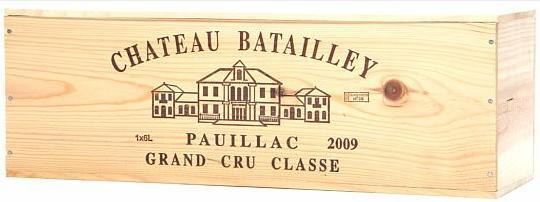 1 bt. Imp. Château Batailley, Pauillac. 5. Cru Classé 2009 A (hf/in). Owc