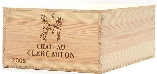 12 bts. Château Clerc Milon, Pauillac. 5. Cru Classé 2005 A (hf/in). Owc